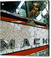 The Fire Truck Acrylic Print