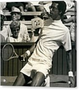 The First Dai Of The Wimbeddon Tennis Tournament Arthur Acrylic Print