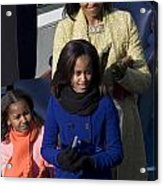 The First Lady And Daughters Acrylic Print by JP Tripp