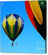 The First One Up  Acrylic Print by Jeff Swan