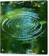 The Fish Pond Acrylic Print