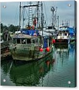 The Fishing Boat Genesta Hdrbt4240-13 Acrylic Print