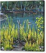 The Fishing Hole Acrylic Print
