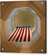 The Flag - Maryland State House Acrylic Print