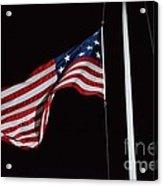 The Flag Of 1801 Acrylic Print