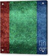 The Flag Of The Planet Mars Acrylic Print