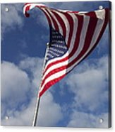 The Flag Was Still There Acrylic Print