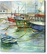 The Fleet Is In At Dingle Acrylic Print