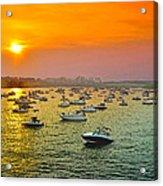 The Fleet Of The Potomac Acrylic Print