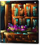 The Flower Box - Scratch Art Series - #31 Acrylic Print