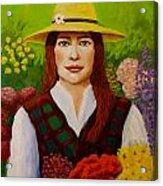 The Flowers Acrylic Print