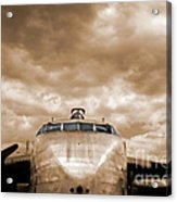 The Flying Boxcar  Acrylic Print