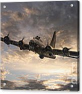 The Flying Fortress Acrylic Print