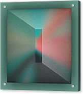 The Focus - Green Acrylic Print