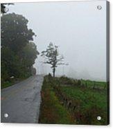 The Fog Of Road Acrylic Print