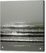 The Fog Acrylic Print by Sheldon Blackwell