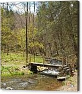 The Foot Bridge Acrylic Print