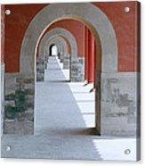 The Forbidden City Acrylic Print