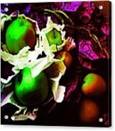 The Forbidden Fruit II Acrylic Print