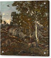 The Forest Of Fontainebleau Acrylic Print