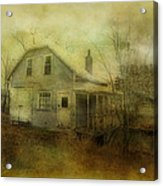 The Forgotten House  Acrylic Print by Dianne  Lacourciere