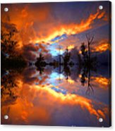 The Forgotten Sunset Acrylic Print