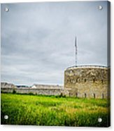 The Fort Acrylic Print