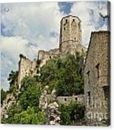 The Fortress Acrylic Print