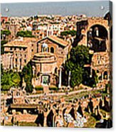 The Forum From The Palatine Acrylic Print
