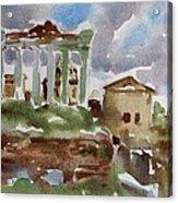 The Forum Acrylic Print