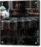 The Fountain And The Teapot Acrylic Print