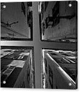 The Four Corners Of Nice Acrylic Print