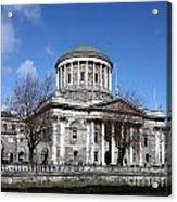 The Four Courts North Quays Dublin Acrylic Print