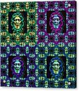 The Four Medusas 20130131 Acrylic Print by Wingsdomain Art and Photography