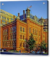 The Franklin School - Washington Dc Acrylic Print