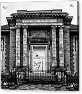 The Free Library Of Philadelphia - Manayunk Branch Acrylic Print