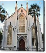 Charleston French Huguenot Church Acrylic Print