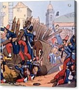 The French Legion Storming A Carlist Acrylic Print