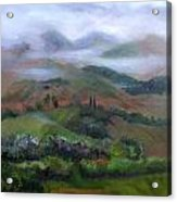 The French Pyrenees Acrylic Print