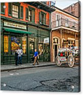 The French Quarter Acrylic Print