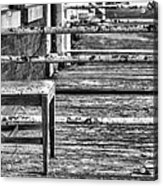 The Front Porch Bw Acrylic Print by JC Findley