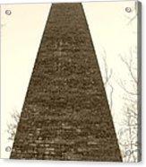The Furnace Acrylic Print