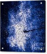 The Galaxy Blue Version Acrylic Print