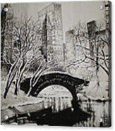 Bridge To The World Acrylic Print