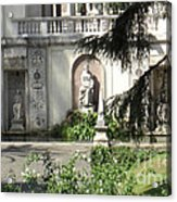 The Garden At The Pope's Private Residence Acrylic Print