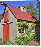 The Garden Barn Acrylic Print