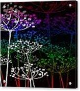 The Garden Of Your Mind Rainbow 2 Acrylic Print