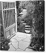 Special Pricing The Garden Path Acrylic Print