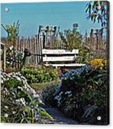 The Garden Path Acrylic Print