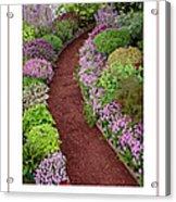 The Garden Poster Acrylic Print